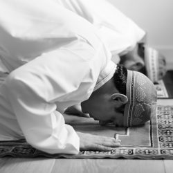 Muslim praying in sujud posture Free Photo
